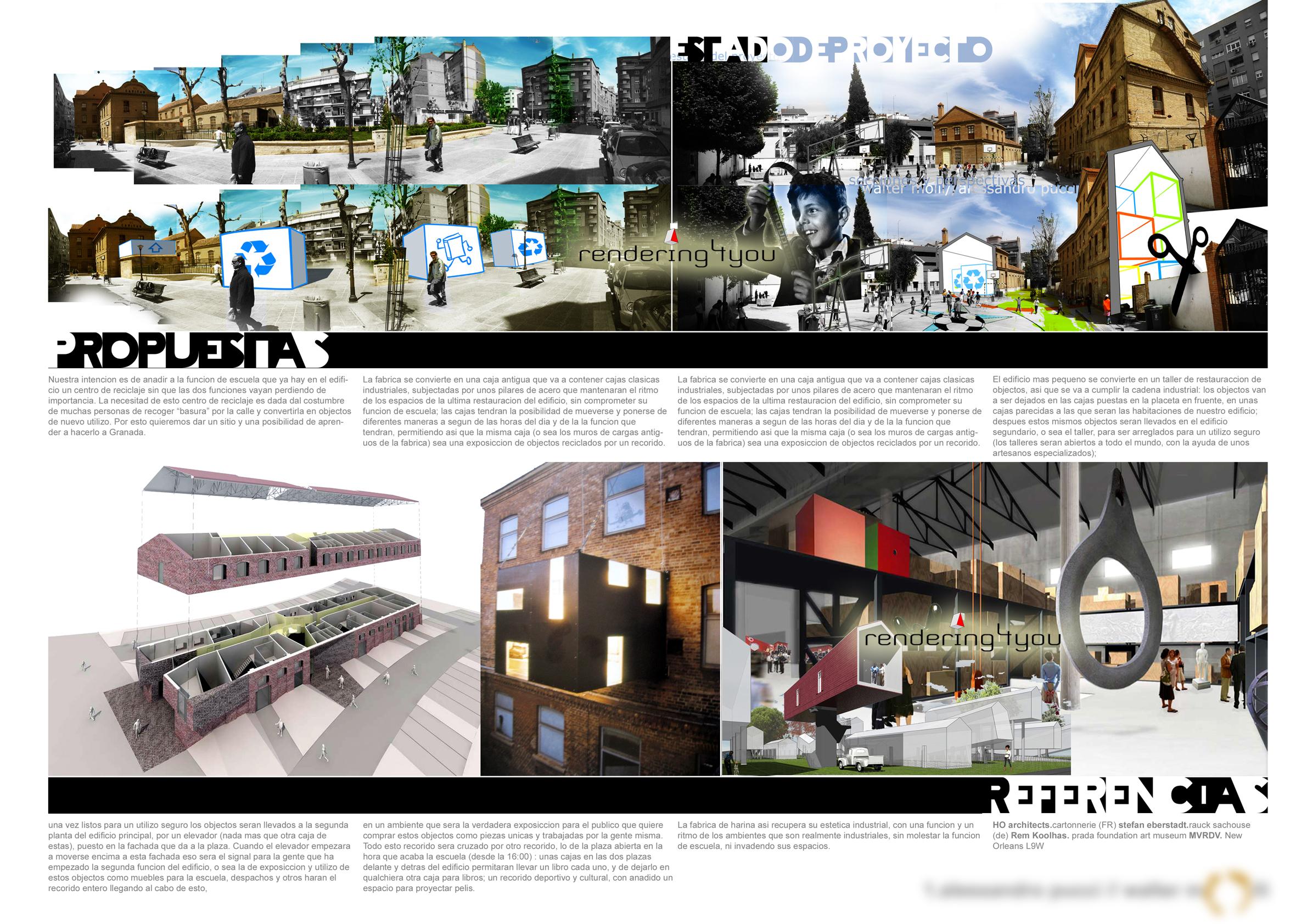 Fotoinserimenti rendering rendering4you for Concorsi di architettura